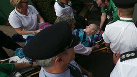 Жуткая травма Маттек-Сэндз на Уимблдоне