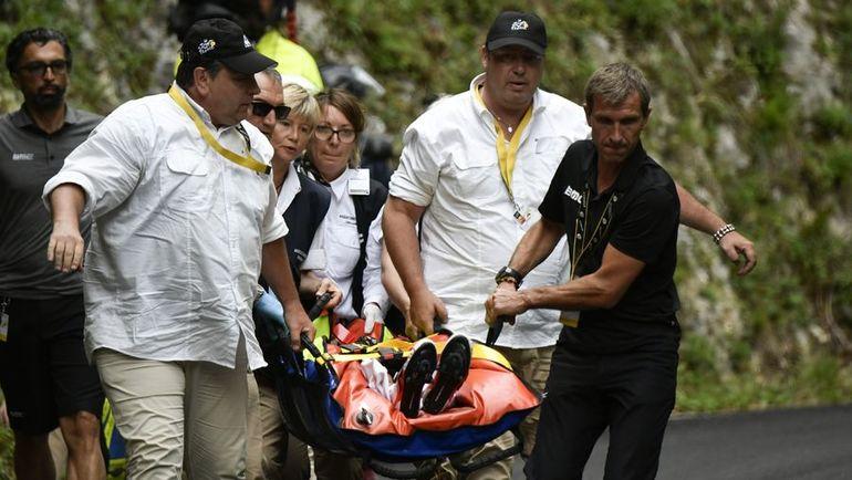 """Для Ричи Порта """"Тур де Франс"""" закончился за 12 этапов до финиша. Фото AFP"""