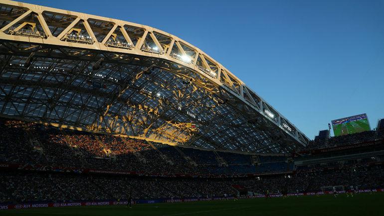 """Стадион """"Фишт"""". Фото REUTERS"""