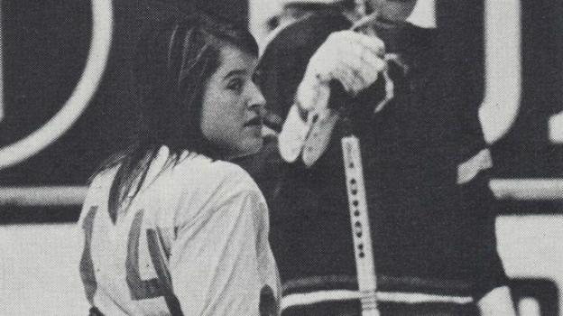 Пие СТЕРНЕР не удалось реализоваться как профессиональной хоккеистке. Фото hockeysverige.se