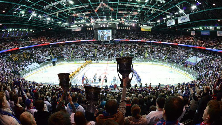 Сегодня был представлен календарь 10-го сезона КХЛ. Фото photo.khl.ru