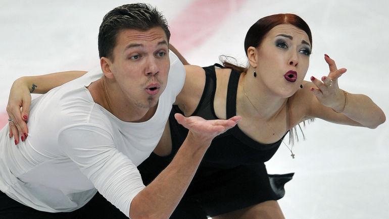 """Дмитрий СОЛОВЬЕВ (слева) и Екатерина БОБРОВА. Фото Федор УСПЕНСКИЙ, """"СЭ"""""""