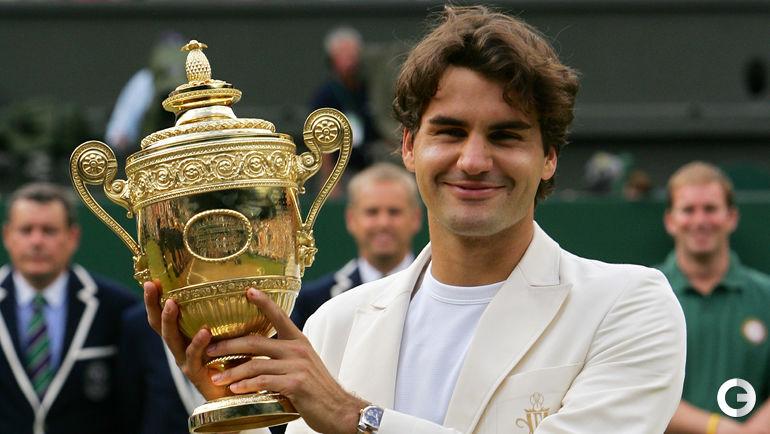 2006 год. Роджер ФЕДЕРЕР. Фото AFP