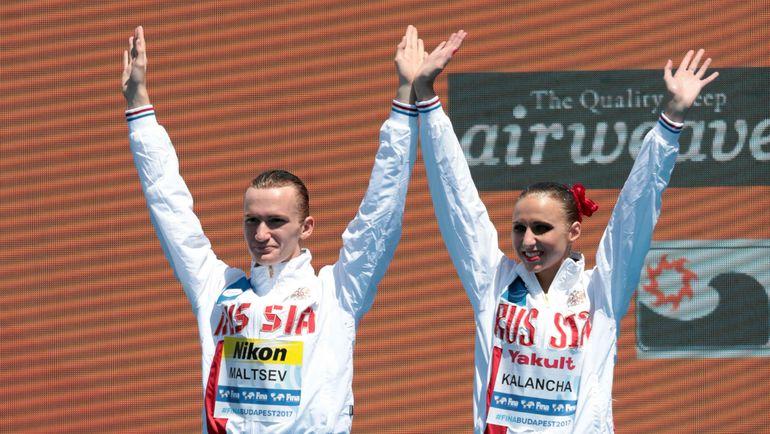 Каланча иМальцев стали серебристыми призерами чемпионата мира втехнической программе
