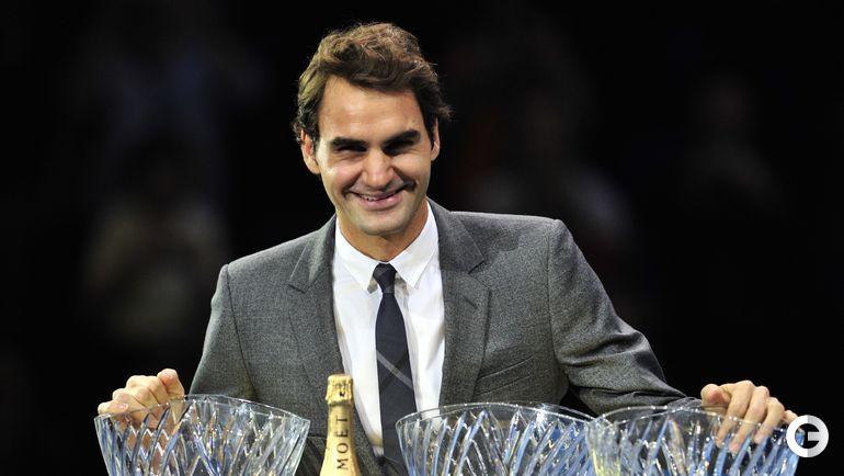 4-е место. Роджер ФЕДЕРЕР, теннис. Фото AFP