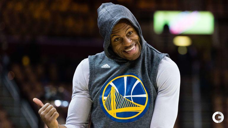 "9-е место. Андре ИГУДАЛА, баскетбол (""Голден Стэйт Уорриорз""). Фото AFP"