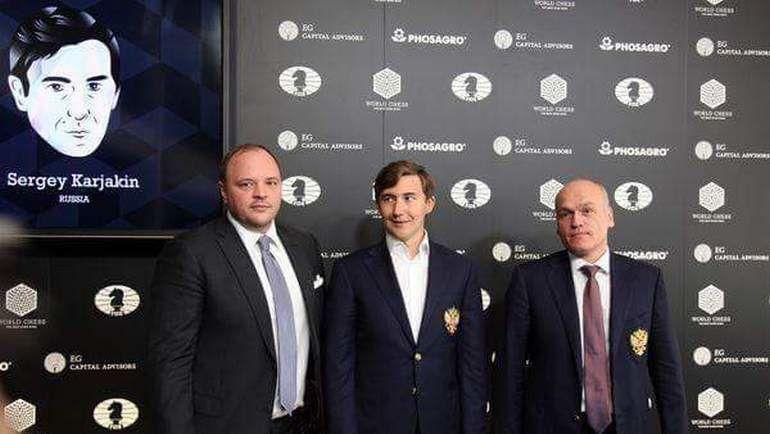 Андрей ГУРЬЕВ, Сергей КАРЯКИН и Андрей ФИЛАТОВ.