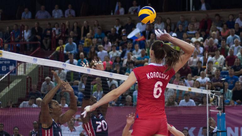 Русские волейболистки лишились шансов на«Финал шести» Гран-при