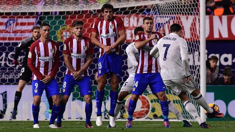 """""""Атлетико"""" постарается отомстить """"Реалу"""" за прошлые неудачи. Фото AFP"""