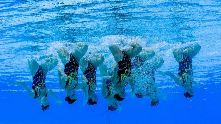 Сборная России на чемпионате мира в Будапеште. Фото AFP