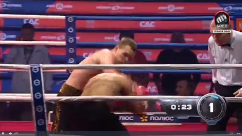 Бой Чудинов - Барбадильо.