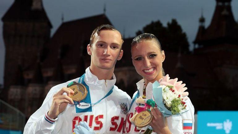 Микаэла КАЛАНЧА и Александр МАЛЬЦЕВ. Фото AFP