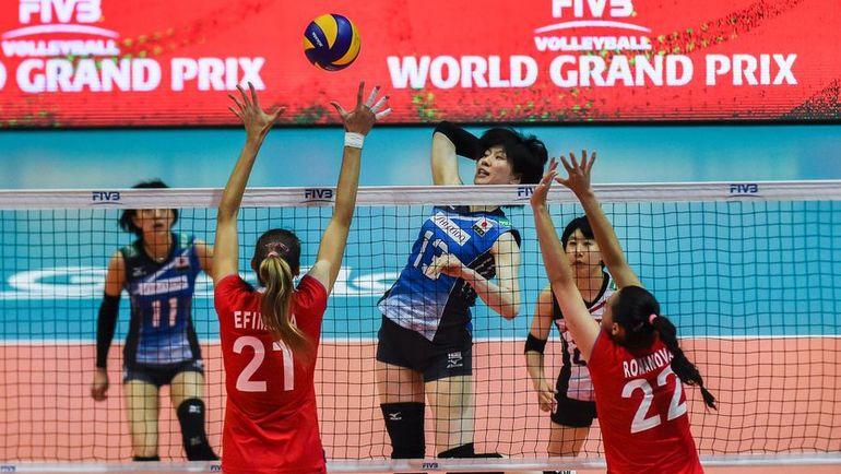 Сегодня. Гонконг. Япония - Россия - 3:2. Росиянки вновь проиграли в пятисетовом поединке. Фото AFP