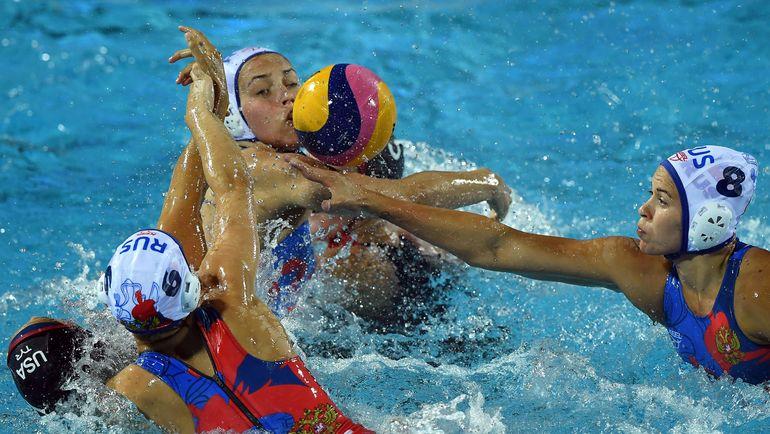 В матче за третье место российская команда встретится с канадками или испанками. Фото AFP