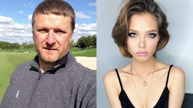 Евгений Кафельников и его дочка Алеся. Фото Инстаграм