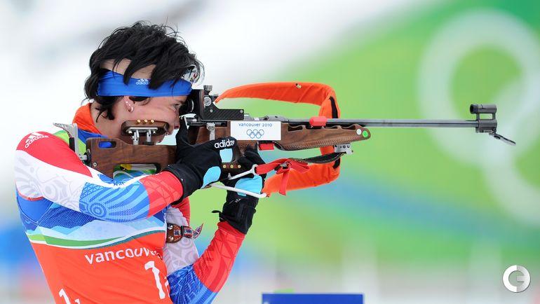 2010 год. Светлана СЛЕПЦОВА на Олимпиаде в Ванкувере. Фото AFP