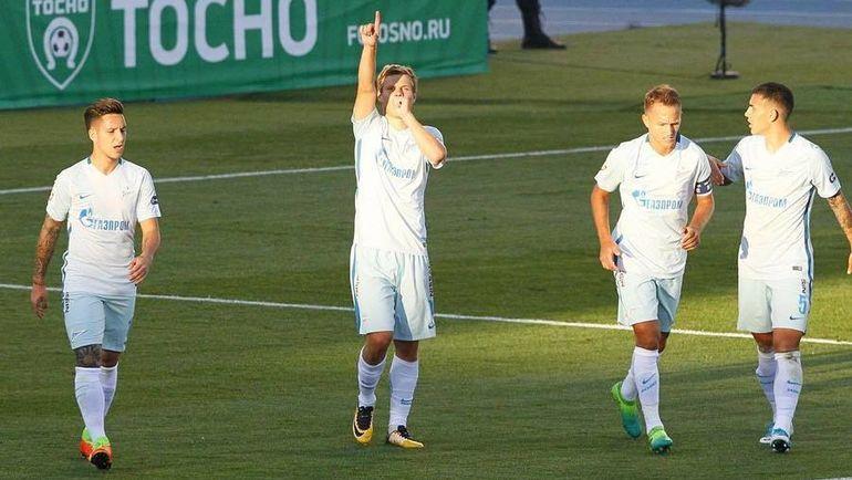 Кокорин забил 50-й гол вчемпионатах РФ