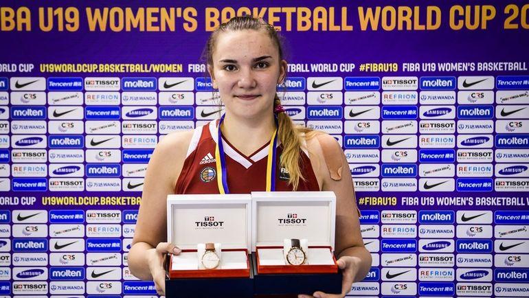 Женская сборная Российской Федерации побаскетболу выиграла молодежный чемпионат мира