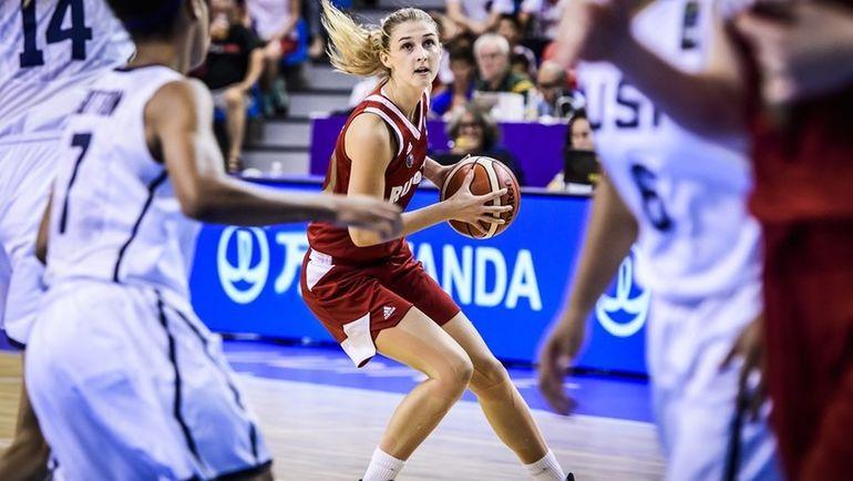 Дарья КУРИЛЬЧУК (№10). Фото FIBA