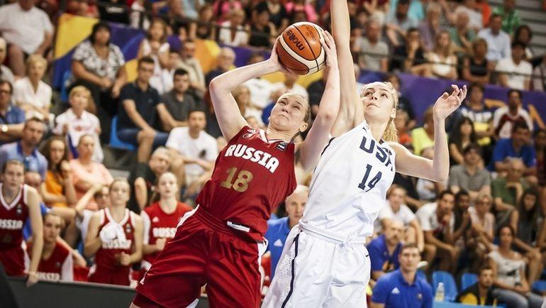 Виктория ЧЕРЕН (№18). Фото FIBA