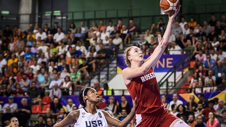 Вчера. Удине. США - Россия - 82:86. Мария ВАДЕЕВА (№7) стала самым ценным игроком юниорского чемпионата мира. Фото FIBA