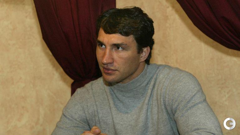 2003 год. Владимир КЛИЧКО. Фото Александр ВИЛЬФ