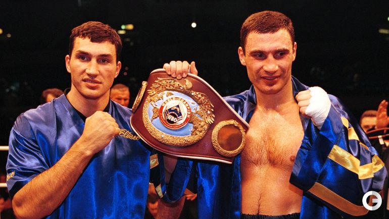 1999 год. Владимир и Виталий КЛИЧКО. Фото REUTERS