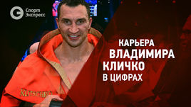 Карьера Владимира Кличко в цифрах