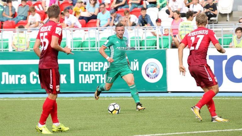 Уфа в ярком матче переиграла Ахмат