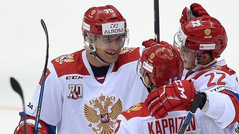 Сегодня. Сочи. Россия - Канада. Товарищеский матч получается богатым на события. Фото ФХР