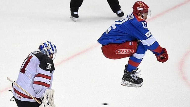Сегодня. Сочи. Россия - Канада - 3:2. Россияне вышли в финал турнира, где сыграют со СКА. Фото ФХР