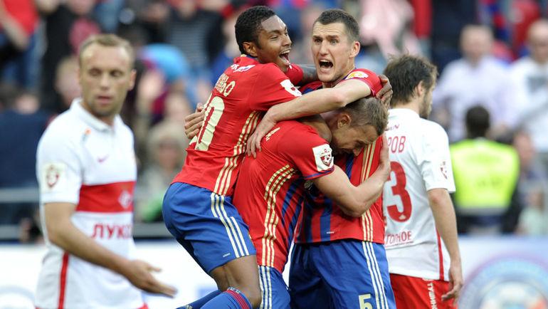 ЦСКА напоследних минутах матча смог  вырвать победу у«Спартака»
