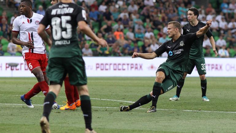 Краснодар теряет очки в матче с Амкаром