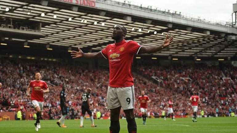 "Вчера. Манчестер. ""Манчестер Юнайтед"" - ""Вест Хэм"" - 4:0. Рамелу ЛУКАКУ отметился дублем. Фото AFP"