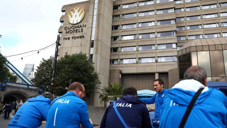 Некоторым легкоатлетам пришлось переселиться из своего отеля из-за вспышки вируса. Фото REUTERS