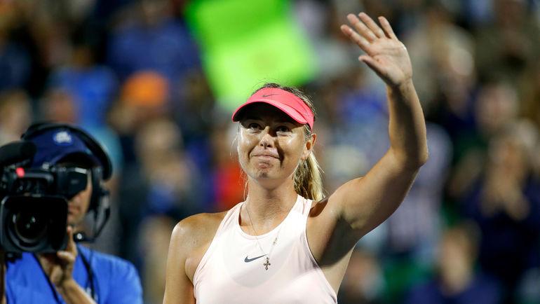 Мария Шарапова получила wild card наUS Open