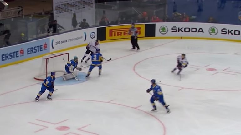 Украина вылетела в дивизион ниже еще до матча с Кореей. Фото YouTube.com