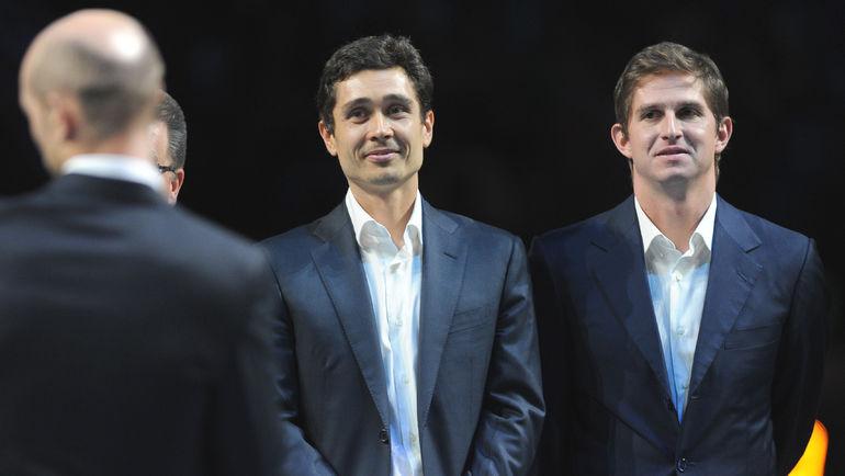 2014 год. Игорь АНДРЕЕВ (справа) и Игорь КУНИЦЫН. Фото Никита УСПЕНСКИЙ