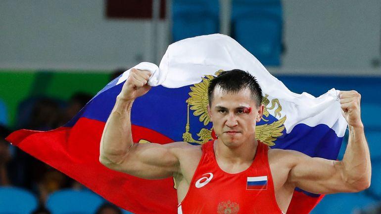 Август 2016 года. Рио-де-Жанейро. Двукратный олимпийский чемпион Роман ВЛАСОВ. Фото AFP