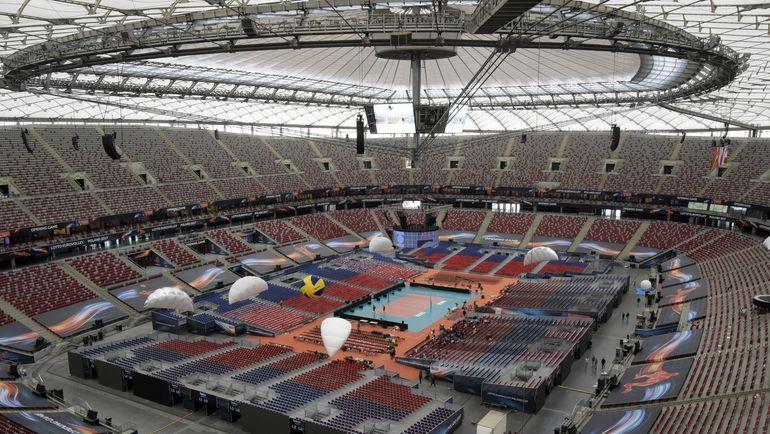Стадион в Варшаве, на котором будет проходить чемпионат Европы по волейболу. Фото cev.lu