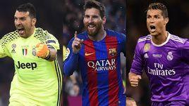 Буффон, Месси и Роналду: кто лучший в Европе?