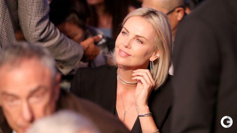 Суббота. Лас-Вегас. Актриса Шарлиз ТЕРОН. Фото AFP