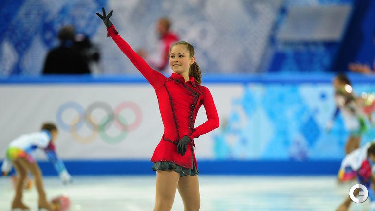 2014 год. Юлия ЛИПНИЦКАЯ - олимпийская чемпионка в командном турнире.