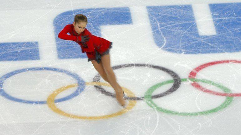 Юлия ЛИПНИЦКАЯ в олимпийском Сочи. Фото REUTERS