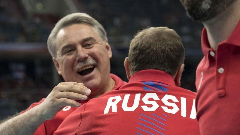 Сборная России - в четвертьфинале ЧЕ-2017. Фото cev.lu
