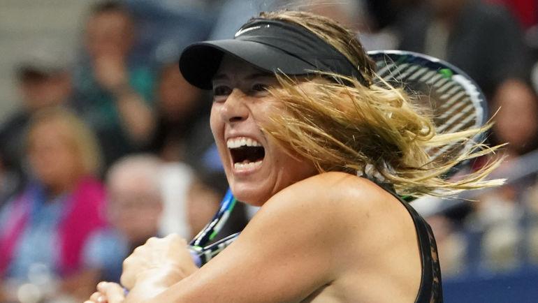 Шарапова одержала вторую победу наUS Open
