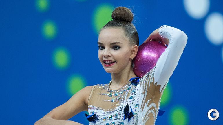 Среда. Пезаро. Чемпионат мира по художественной гимнастике. Дина АВЕРИНА.