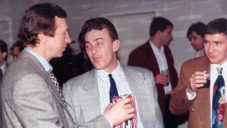 Юрий СЕМИН (слева) и Олег ГАРИН (в центре). Фото lokomotiv.info