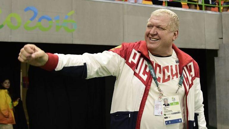 2016 год. Евгений ТРЕФИЛОВ - рулевой золотой олимпийской сборной.