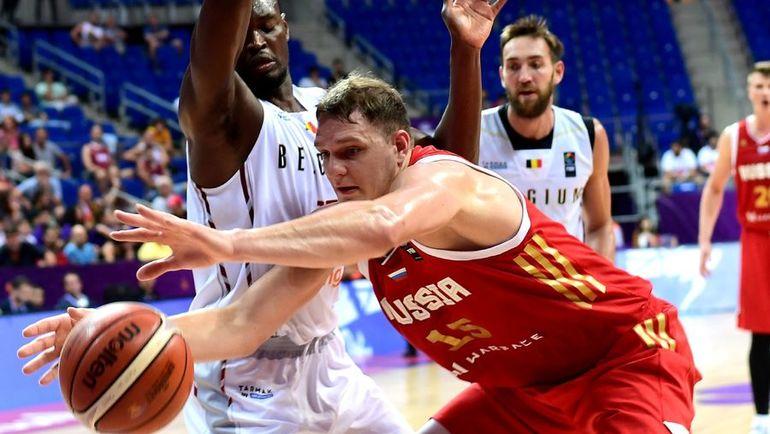 Сборная Российской Федерации проиграла команде Латвии вматче чемпионата Европы побаскетболу
